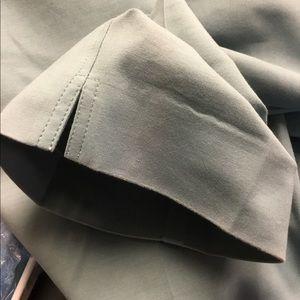 St. John Pants - St. John teal color cotton pants size 10